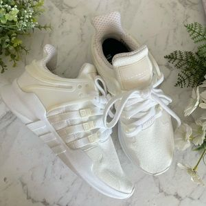 Adidas EQT Support ADV White Sneakers Size 4 Men